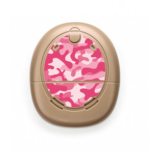 Camouflage Pink skin for Nucleus Kanso sound processors