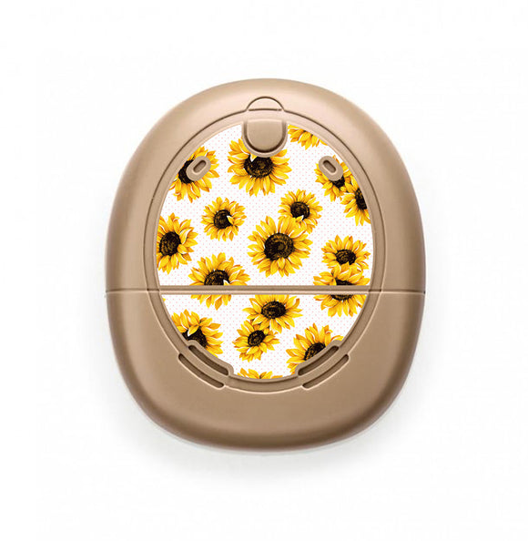 Sunflowers skin for Nucleus Kanso sound processors