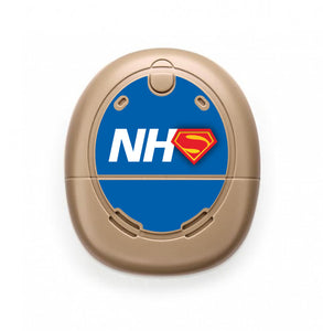 NHS Superhero skin for Nucleus Kanso sound processors