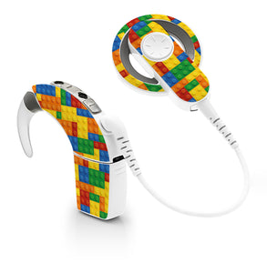 Lego skin for Cochlear Implant, Advanced Bionics