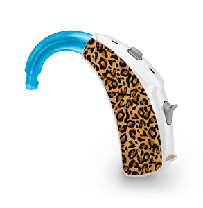 Leopard Print skin for Hearing Aid
