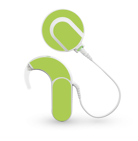 Lime Green skin for Med-El Sonnet and Sonnet 2 Cochlear Implants