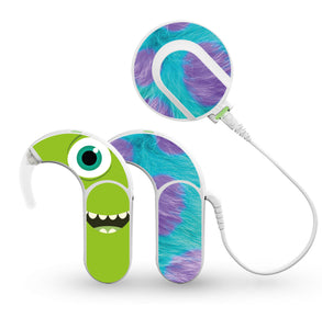 Monsters skin for Med-El Sonnet and Sonnet 2 Cochlear Implants