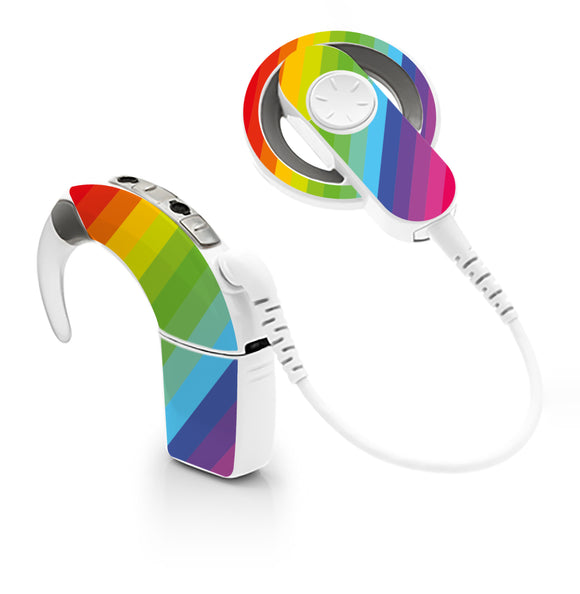 Rainbow skin for Cochlear Implant, Advanced Bionics