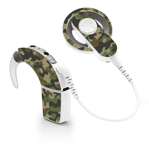 Camouflage skin for Cochlear Implant, Advanced Bionics