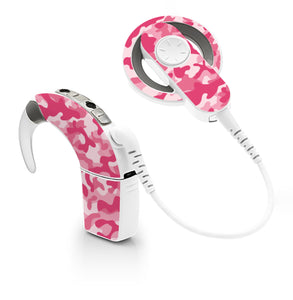 Camouflage Pink skin for Cochlear Implant, Advanced Bionics