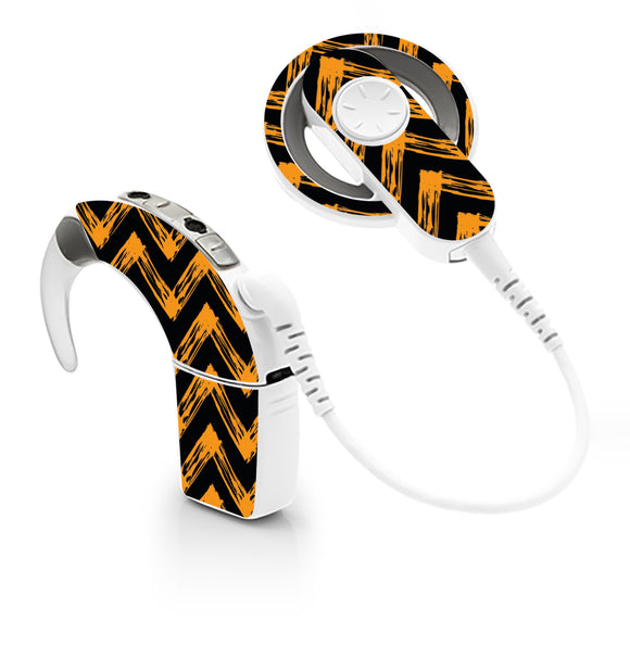 Halloween Pattern skin for Cochlear Implant, Advanced Bionics