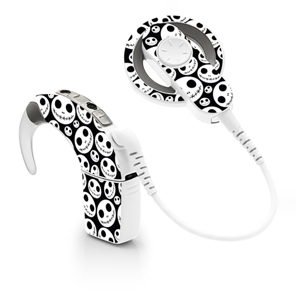 Skellington skin for Cochlear Implant, Advanced Bionics