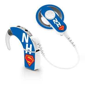 NHS Superhero skin for Cochlear Implant, Advanced Bionics
