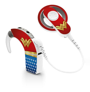 Wonder Superhero skin for Cochlear Implant, Advanced Bionics