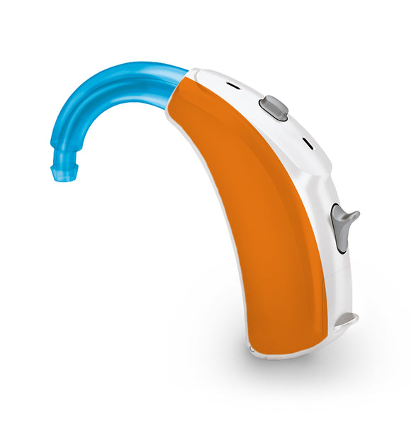 Orange skin for Hearing Aid