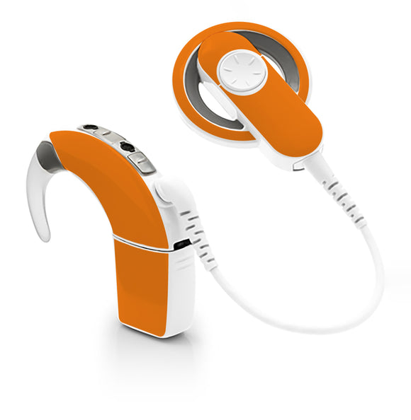 Orange skin for Cochlear Implant, Advanced Bionics