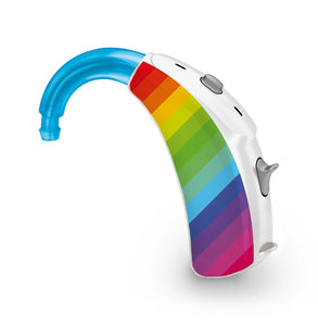 Rainbow skin for Hearing Aid
