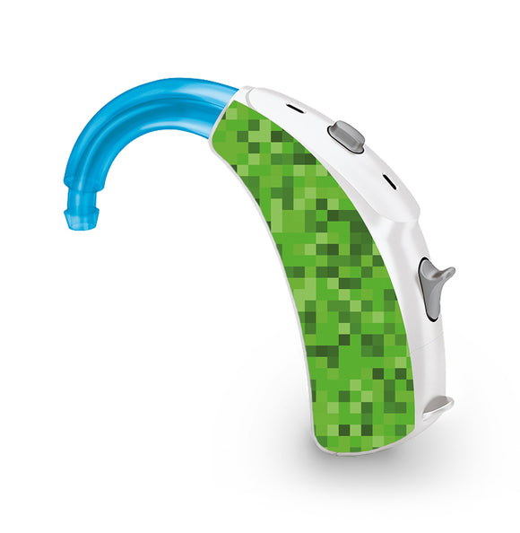 Pixels skin for Hearing Aid