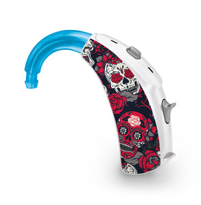 Day of the Dead skin for Hearing Aid