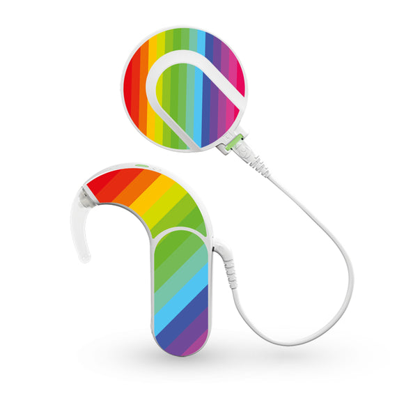 Rainbow skin for Med-El Sonnet and Sonnet 2 Cochlear Implants