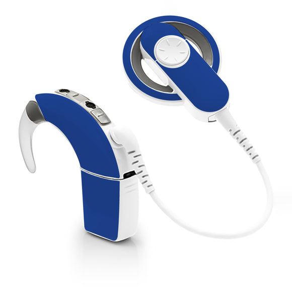 Royal Blue skin for Cochlear Implant, Advanced Bionics