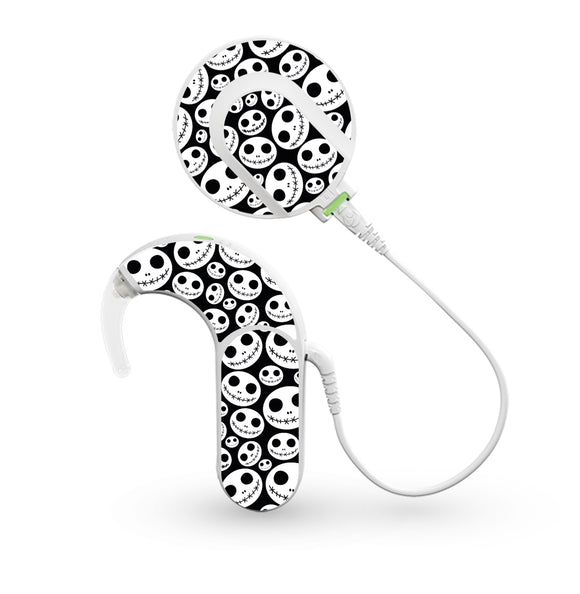 Skellington skin for Med-El Sonnet and Sonnet 2 Cochlear Implants