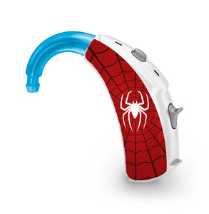 Spider Man skin for Hearing Aid