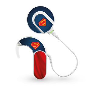 Superhero skin for Med-El Sonnet and Sonnet 2 Cochlear Implants