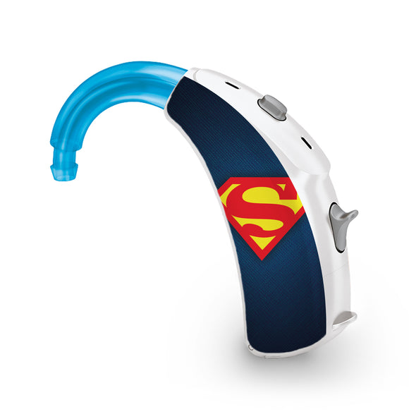 Superman skin for Hearing Aid