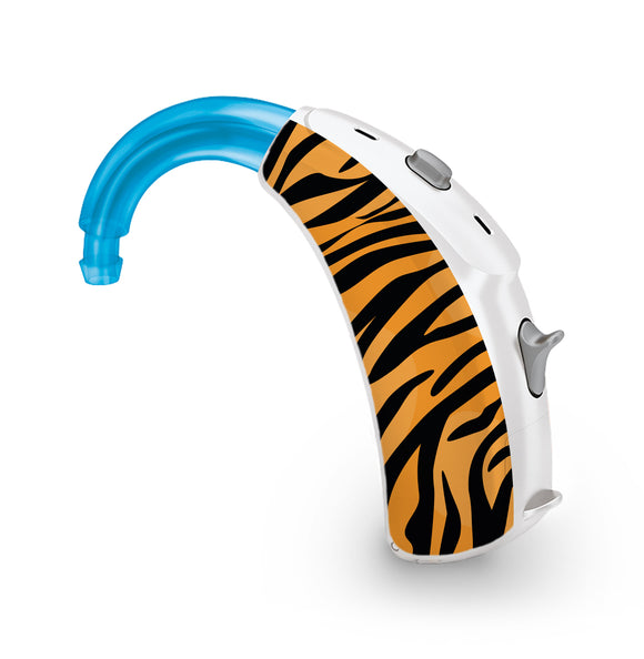 Tiger Print skin for Hearing Aid