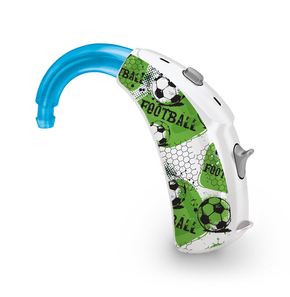 Urban Football skin for Hearing Aid