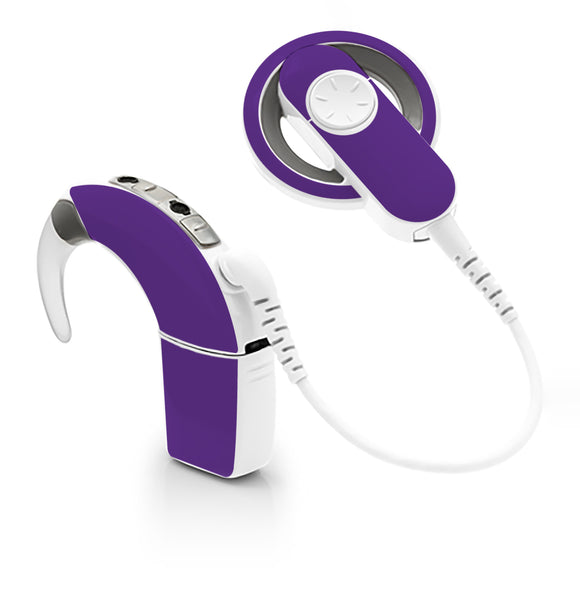 Violet skin for Cochlear Implant, Advanced Bionics