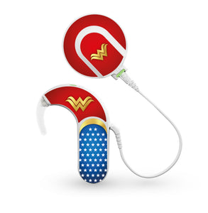 Wonder Superhero skin for Med-El Sonnet and Sonnet 2 Cochlear Implants