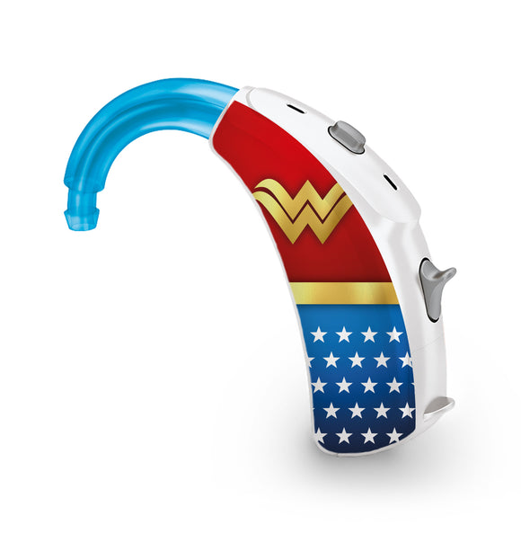 Wonder Superhero skin for Hearing Aid