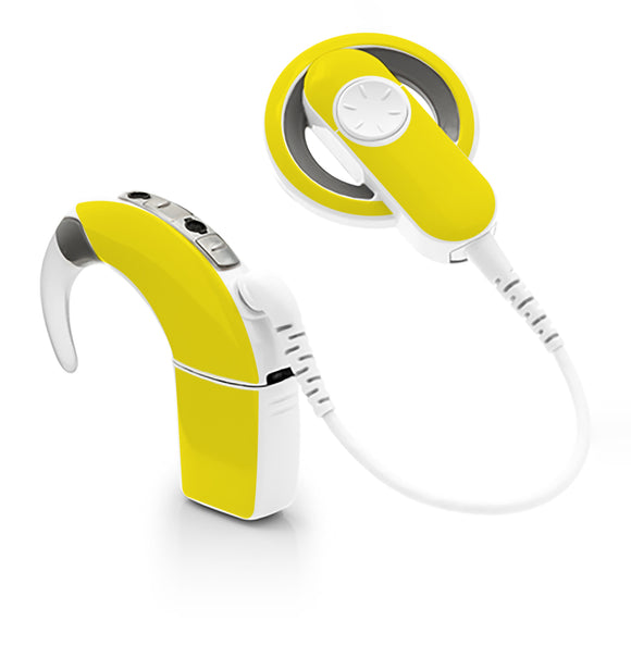 Yellow skin for Cochlear Implant, Advanced Bionics