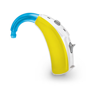 Yellow skin for Hearing Aid