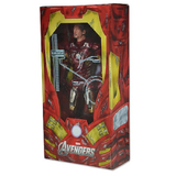 "18"" Inch Tall HUGE Iron Man 'Battle Damaged' (LIGHT UP) LED 1/4 Scale Figure (Avengers) Figure NECA"