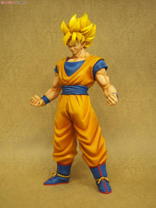 "18"" Inch Tall HUGE Gigantic Series Goku Super Saiyan Shaded Painting Yellow Toei 1/4 Scale"