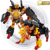 "18"" Inch Deformation Predaking Combiner 6-Pack + UPGRADE KIT ""Animals"" Oversized Jinbao Predacons G1 Figure Jinbao"