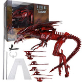 "15"" Inch Tall HUGE Deluxe Red Alien Xenomorph LE Mother Queen 1/4 Scale Figure LIMITED EDITION Figure NECA"