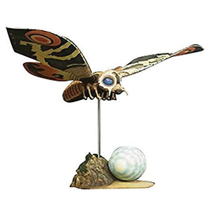 "15"" Inch Tall HUGE Mothra + Mountain Base & Egg 1964 TOHO Vinyl Figure Large Monster Series Figure X-Plus 25cm Scale"