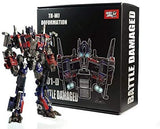 "12"" Inch Deformation WJ M01-Damaged Commander Optimus ""Big Rig"" Oversized Masterpiece Movie 'MPM-4' Figure Wei Jiang (WJ)"