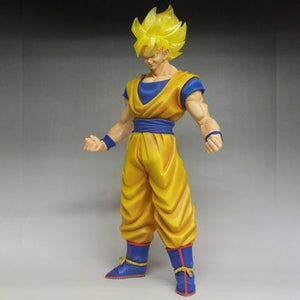 "18"" Inch Tall HUGE Gigantic Series Super Saiyan Goku LE SDCC 2015 Figure 1/4 Scale LIMITED EDITION Figure X-Plus Gigantic Series"