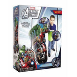 "36"" Inch Tall HUGE Avengers Bop 'Em Inflatable Punching Bag Toy Hedstrom"
