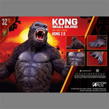 "12"" Inch Tall HUGE Roaring King Kong 2.0 Figure Star Ace Warner Brothers Legendary Entertainment Figure X-Plus 30cm Scale"
