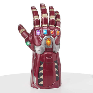 "20"" Inch Tall HUGE Avengers Iron Man Power Gauntlet (LIGHT UP & SFX) LED Marvel Legends Series Toy Hasbro"
