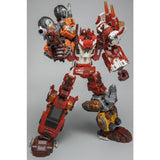 "15"" Inch WB-03 Technobots Computron Combiner 6-Pack ""Assorted Vehicles"" Oversized Warbotron G1 Figure Warbotron"