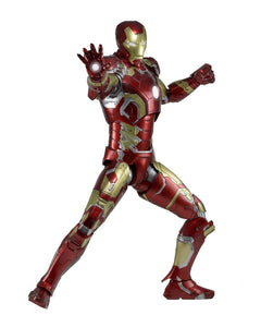 "18"" Inch Tall HUGE Iron Man Mark 43 AoU (Light Up) LED 1/4 Scale Figure (Avengers: Age of Ultron) Figure NECA"