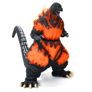 "18"" Inch Tall HUGE 1995 Burning Godzilla SDCC X-PLUS Gigantic Series Hong Kong Bandai Sakai Figure"