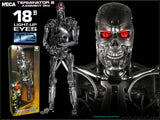 "18"" Inch Tall HUGE Terminator Endoskeleton T-800 LE (LIGHT UP) LED 1/4 Scale Figure LIMITED EDITION Figure NECA"