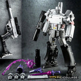"12"" Inch Robot Force WJ NE-01 Megatron Megamaster ""Gun"" Oversized Masterpiece Movie 'MPM-36' G1 Figure Wei Jiang (WJ)"