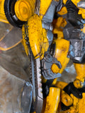 "10"" Inch Deformation Oversized (Battle Damaged) BMB LS-07 BumbleBee Wasp Masterpiece Movie 'MPM-7' Figure Black Mamba (BMB)"