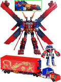 "22"" Inch Mechtech Ultimate Optimus LE YOTD (LIGHT UP & SFX) LED 'Year of the Dragon' LIMITED EDITION Figure Hasbro"