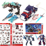 "09"" Inch Hasbro Optimus Prime + Grimlock 2-Pack PLATINUM EDITION (Transformers: Age of Extinction) Figure Hasbro"